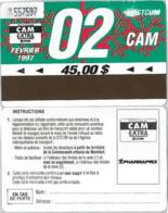ABBONAMENTO MONTREAL CANADA 2/97 (A23.3 - Season Ticket