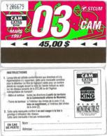 ABBONAMENTO MONTREAL CANADA 3/97 (A23.7 - Abbonamenti