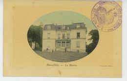 PIERREFITTE SUR SEINE - La Mairie (cachet Militaire  ) - Pierrefitte Sur Seine