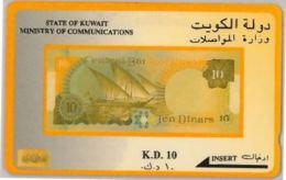 PHONE CARD KUWAIT (A48.1 - Kuwait