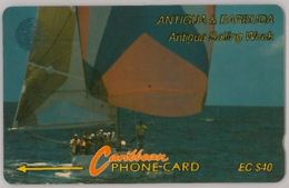 PHONE CARD ANTIGUA E BARBUDA (A50.4 - Antigua And Barbuda