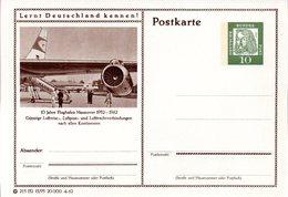 """BRD Bildpostkarte""""Lernt Deutschland Kennen!"""" Wz 10(Pf) Albrecht Dürer, Grün, P72 215132 13/95 """"Hannover"""" Ungebraucht - [7] Federal Republic"""