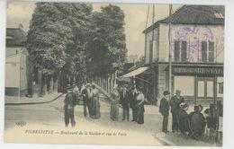 PIERREFITTE SUR SEINE - Boulevard De La Station Et Rue De Paris (cachet Militaire ) - Pierrefitte Sur Seine
