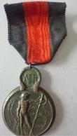 Médaille  1ère Guerre Mondiale * Bataille De L'Yser  17 Au 31 Oct.1914 - France