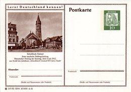 """BRD Bildpostkarte""""Lernt Deutschland Kennen!""""Wz 10(Pf) Albrecht Dürer,grün,P72 215132 13/96""""Schwäbisch Gmünd"""" Ungebraucht - [7] République Fédérale"""