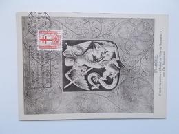 KoninklijkST. MICHEL , Anti Teringzegel 20 + 5 Cent  1951 Stempel21-2-1952 - 1951-1960