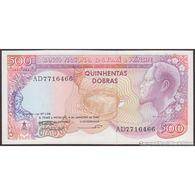 TWN - SÃO TOMÉ E PRÍNCIPE 61 - 500 Dobras 4.1.1989 Prefix AD UNC - São Tomé U. Príncipe