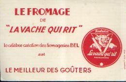 « Fromage LA VACHE QUI RIT» - Buvards, Protège-cahiers Illustrés