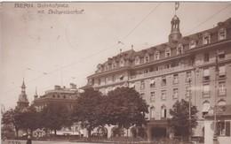 Ansichtskarte. BERN: Bahnhofplatz Mit Schweizerhof - Hotels & Restaurants