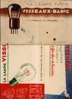 LYON « Lampes VISSEAUX » - Lot De 3 Buvards - Buvards, Protège-cahiers Illustrés