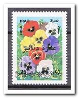 Irak 1993, Postfris MNH, Flowers With Overprint - Irak
