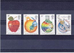 GB 1987 NEWTON Yvert 1260-1263 NEUF** MNH - 1952-.... (Elizabeth II)