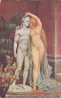Nude Eunica Kissing A Statue Of Petronius - Henrik Senkiewicz - Sculture
