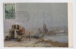 CARTE MAXIMUM CM Card USSR RUSSIA  Art Painting Oil Bore - 1923-1991 URSS
