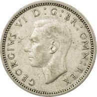 Monnaie, Grande-Bretagne, George VI, 6 Pence, 1943, TB+, Argent, KM:852 - 1902-1971 : Monnaies Post-Victoriennes