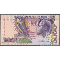 TWN - SÃO TOMÉ E PRÍNCIPE 65b - 5000 5.000 Dobras 22.10.1996 Prefix AA UNC - Sao Tomé Et Principe