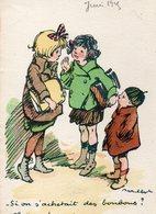 Si On S'achetait Des Bonbons ? Illustrateur Poulbot - Poulbot, F.