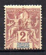 Col10    Grande Comore N° 2 Neuf X MH  Cote : 1,70 Euro Cote 2015 - Unused Stamps