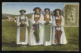 *Bosnische Bäuerinnen* ED. Cappon Nº 744. Circulada. - Bosnia Y Herzegovina