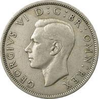 Monnaie, Grande-Bretagne, George VI, 1/2 Crown, 1949, TTB, Copper-nickel, KM:879 - 1902-1971 : Monnaies Post-Victoriennes