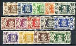 Wallis Et Futuna  -  1944  :  Yv  133-46  ** - Wallis-Et-Futuna