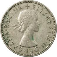 Monnaie, Grande-Bretagne, Elizabeth II, Shilling, 1958, TB+, Copper-nickel - 1902-1971 : Monnaies Post-Victoriennes