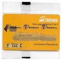Spain - Trenes - Locomotora Mastodonte 2/4, P-353 - 09.1998, 500PTA, 10.000ex, NSB - España