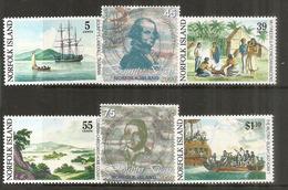 La Mutinerie Du BOUNTY En 1789.    6  Timbres Neufs  **  Côte   18,00 € EUR - Ile Norfolk