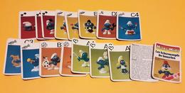 Kwartet : De Smurfen / Les Schtroumpfs (MaxiMini) - ASS - 7263 A - Speelkaarten