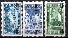 Col10    Grand Liban  N° 78  79 & 82 Neuf X MH  Cote : 11,50 Euro Cote 2015 - Great Lebanon (1924-1945)
