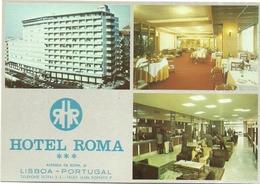 HOTEL   ROMA  AVENIDA  DE  ROMA   33  1700  LISBOA - Portugal