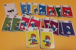 Kwartet : De Smurfen / Les Schtroumpfs (Maxi-Mini) - ASS 7263B - Speelkaarten