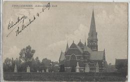 THOLLEMBEEK (Tollembeek) Achterzijde Kerk 1909 - Galmaarden - Galmaarden