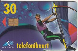 ESTONIA - Surfer, Chip ORGA 3, 05/97, Used - Estonia