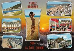 La Cote Fleurie - Multi Vues : Houlgate, Villers Sur Mer, Cabourg, Deauville, Franceville Plage, Trouville - Villers Sur Mer
