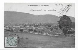 88   REMIREMONT  VUE GENERALE     TRES BON ETAT   2 SCANS - Remiremont