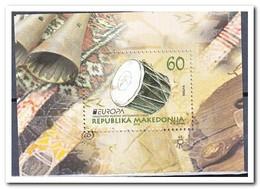 Macedonië 2014, Postfris MNH, Europe, Music - Macedonië