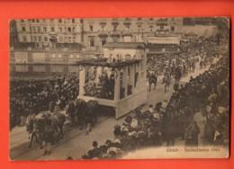 EBA-08 Selten Zürich Sechseläuten 1910, Umzug. Gelaufen In 1910 Nach Loerrach - ZH Zurich