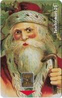 Sweden - Telia - Christmas Santa Claus - 10.1992, SC4 Gold, 25U, 7.500ex, Mint (check Photos) - Schweden