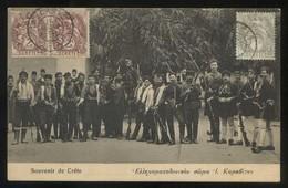 Creta. *Souvenir De Créte* Ed. N. Douras Nº 101. Matasellos De Favor Año La Canee 1911. - Grecia