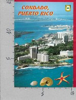 CARTOLINA VG USA PUERTO RICO - SAN JOUAN - Vista Aerea Del Condado Y Puerta De Tierra - 10 X 15 - ANN. 1999 - Puerto Rico