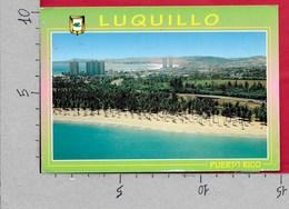 CARTOLINA VG USA PUERTO RICO - LUQUILLO Vista Aerea De La Playa - 10 X 15 - ANN. 2005 SAN JOUAN - Puerto Rico