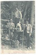CPA Cauterets - Groupes De Guides à Pied ( Chien )    ( S 3129 ) - Cauterets