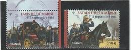 FRANCE 2014 CENTENAIRE DE LA BATAILLE DE LA MARNE YT 4899-4900 - OBLITERE - France