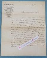 L.A.S 1867 MALAUCENE - Docteur Ste Foy Lemoyne - Au Dr Masson à Carpentras -  Lettre Autographe LAS Médecine - Autographes