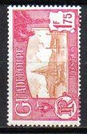 Col10    Guadeloupe  N° 117A Neuf X MH  Cote : 6,50 Euro Cote 2015 - Guadeloupe (1884-1947)