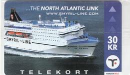 FAROE ISLANDS - The North Atlantic Link. Cruise Ship , 30 Kr,  CN:2006-000008,  Mint - Faroe Islands
