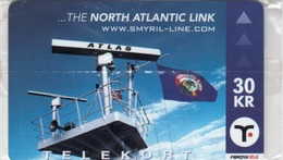 FAROE ISLANDS - The Noth Atlantic Link. Radiolacator , 30 Kr,  CN:2007-000434,  Mint - Faroe Islands