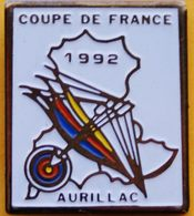GG...230.......TIR  A L'ARC............COUPE  DE  FRANCE...1992......AURILLAC - Archery