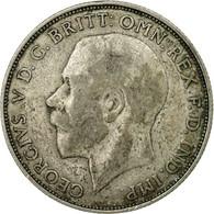 Monnaie, Grande-Bretagne, George V, Florin, Two Shillings, 1923, TB+, Argent - 1902-1971 : Monnaies Post-Victoriennes